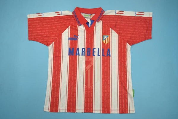 ATLETICO MADRID 1994 1995 SIMEONE 14 HOME JERSEY