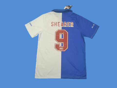 BLACKBURN 1994 1995 SHEARER 9 HOME  JERSEY