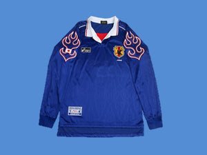JAPAN 1998 WORLD CUP LONG SLEEVE HOME JERSEY