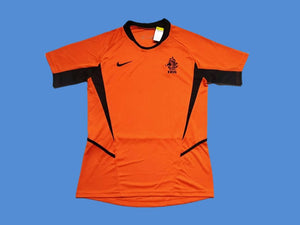 NETHERLANDS HOLLAND 2002 HOME JERSEY