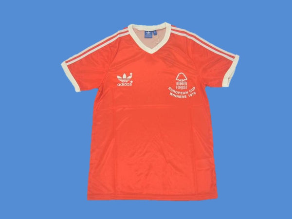 NOTTINGHAM FOREST 1979 NUMBER 7 HOME JERSEY