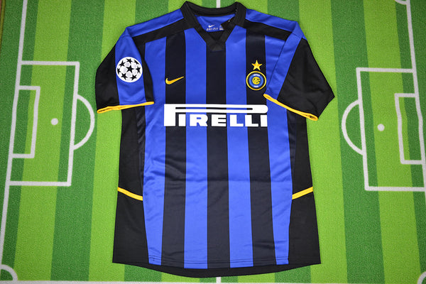 INTER MILAN 2002 2003 HOME JERSEY
