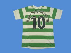 CELTIC  2005 2007  VENNEGOOR OF HESSELINK 10 HOME JERSEY