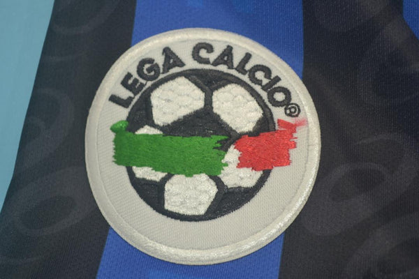 ATALANTA 1996 1997 INZAGHI 9 HOME JERSEY SERIE A PATCH