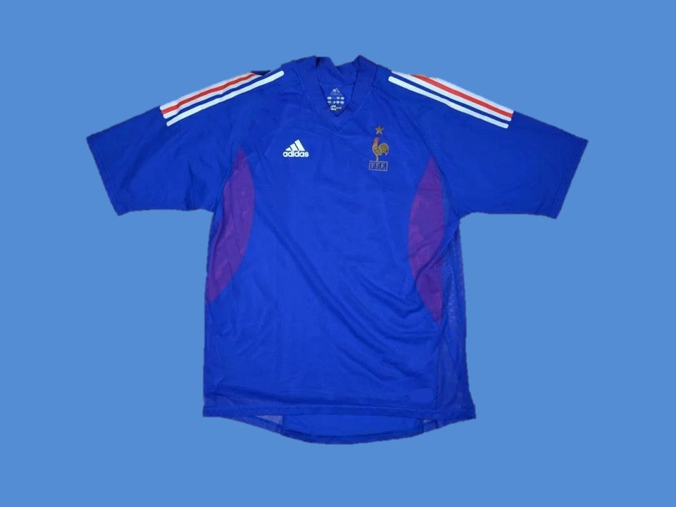 FRANCE 2002 WORLD CUP HOME JERSEY