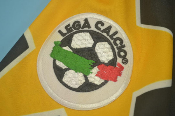 JUVENTUS 1995 1996 DEL PIERO 10 AWAY JERSEY SERIE A PATCH