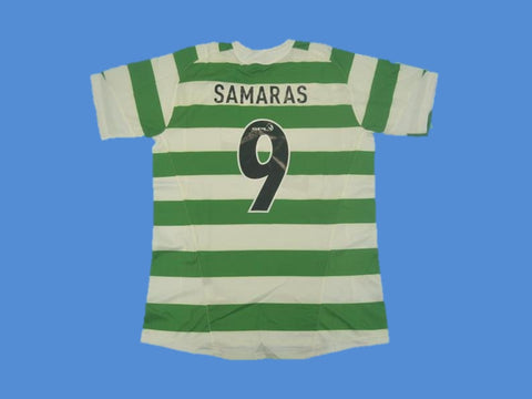 CELTIC  2005 2007  SAMARAS 9 HOME JERSEY