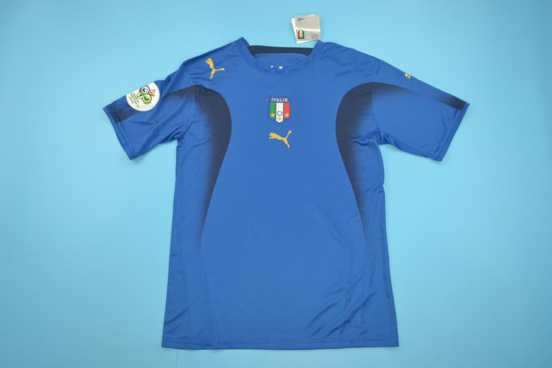 0322178f654 ITALY 2006 WORLD CUP HOME FOOTBALL SHIRT SOCCER JERSEY MAGLIA ...