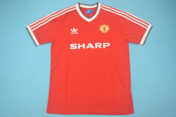 MANCHESTER UNITED  1984 HOME  JERSEY