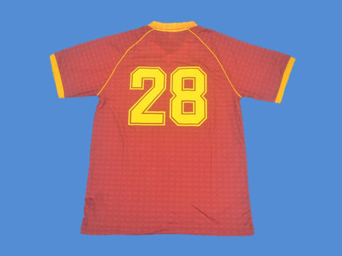 AS ROMA 1990 1991 NUMBER 28 HOME JERSEY