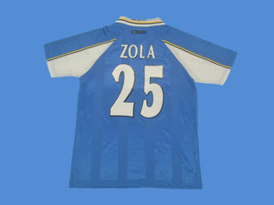 CHELSEA 1997 1999 ZOLA 25 HOME JERSEY