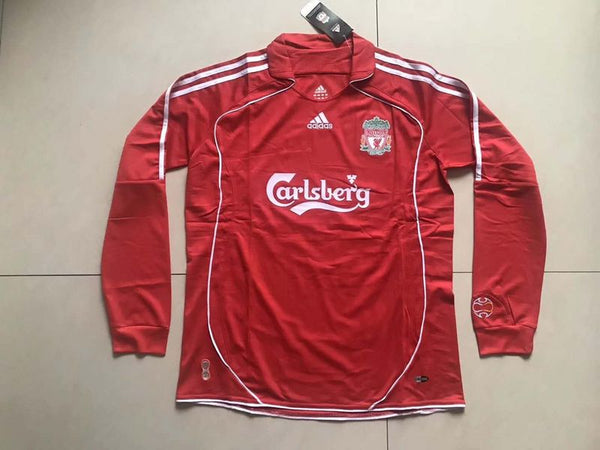 LIVERPOOL 2006 2008  LONG SLEEVE  HOME JERSEY