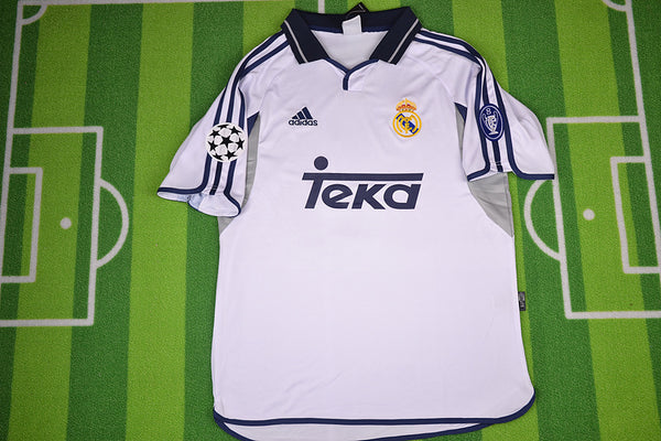 REAL MADRID 2001 2002 HOME JERSEY