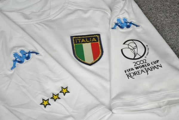 ITALY 2002 CANNAVARO 5 WORLD CUP AWAY JERSEY