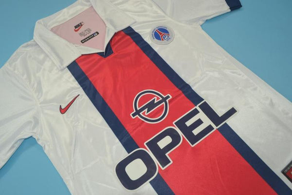 PARIS SAINT GERMAIN PSG 1998 1999 RONALDINHO 21 AWAY JERSEY