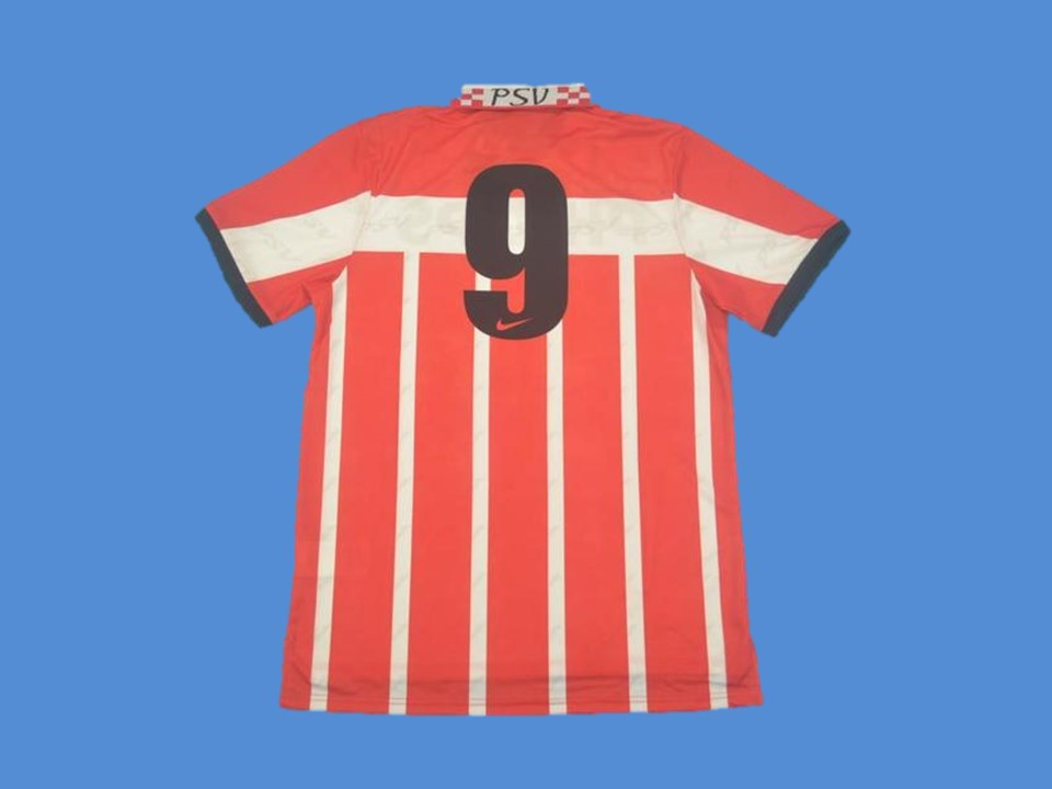 PSV 1995 1996 NUMBER 9 HOME JERSEY