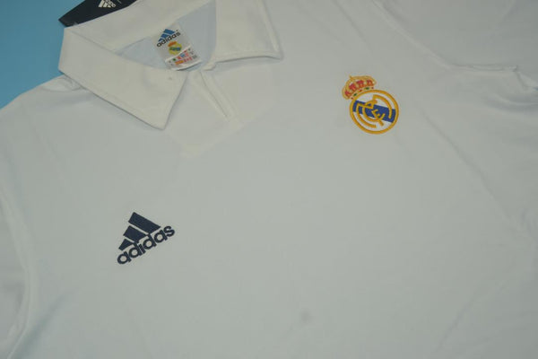 REAL MADRID 2001 2002 GUTI 14 CENTENARY HOME JERSEY