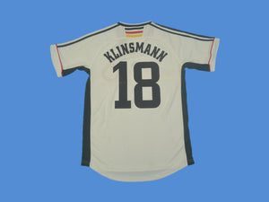 GERMANY 1998 WORLD CUP KLINSMANN18 HOME JERSEY