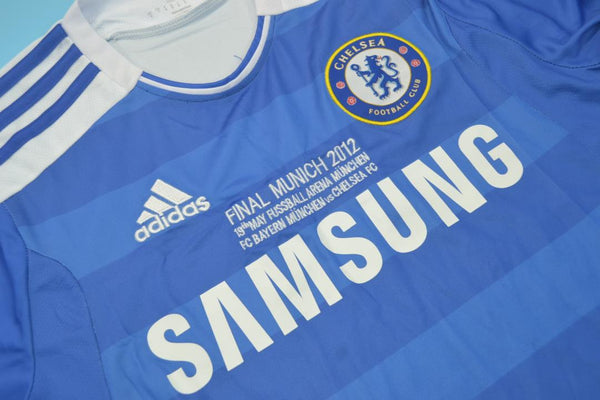 CHELSEA 2012 UCL FINAL HOME JERSEY