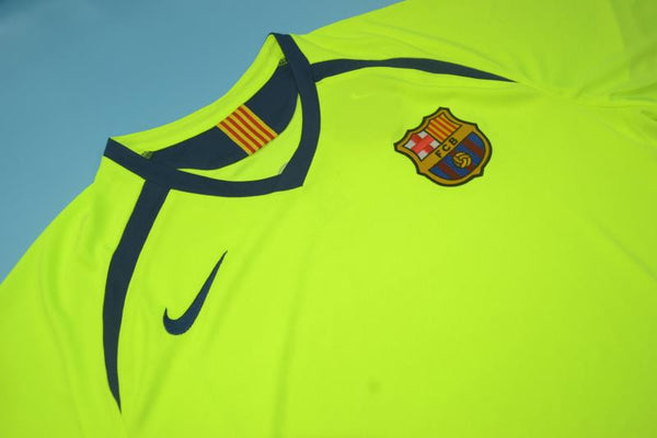 FC BARCELONA 2005 2006 MESSI 30 AWAY JERSEY