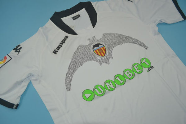 VALENCIA 2009 2010 DAVID VILLA 7 HOME JERSEY
