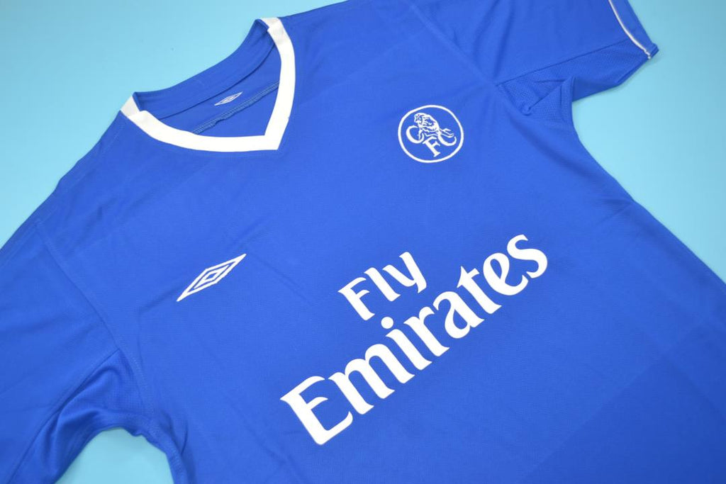 size 40 d1603 21ab2 CHELSEA 2003 2005 LAMPARD 8 HOME FOOTBALL SHIRT SOCCER ...