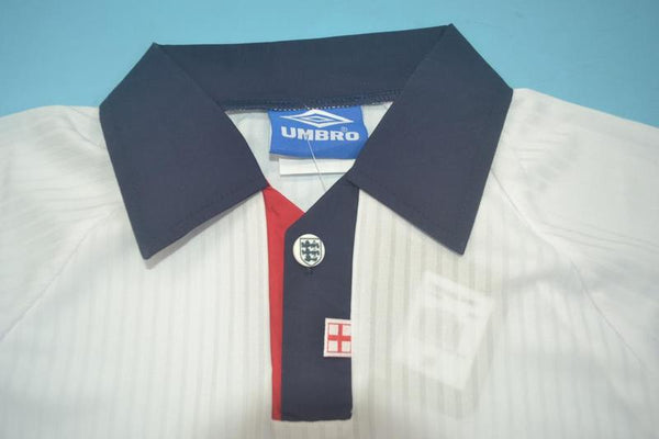 ENGLAND 1998 SHEARER 9 WORLD CUP HOME JERSEY