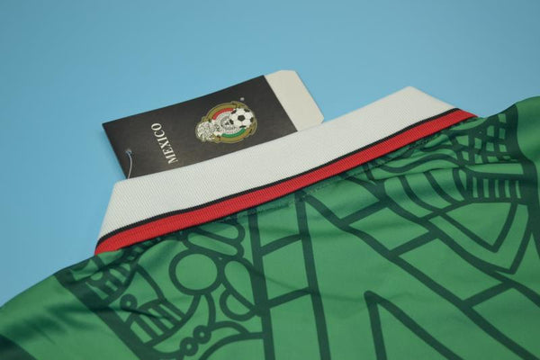 MEXICO 1998 WORLD CUP HERNANDEZ 15 HOME  JERSEY