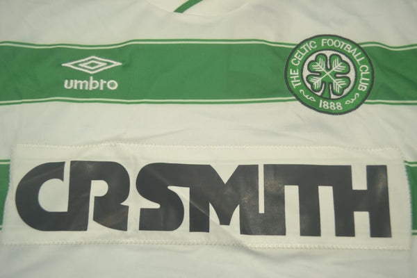 CELTIC  1985 1986 HOME  JERSEY