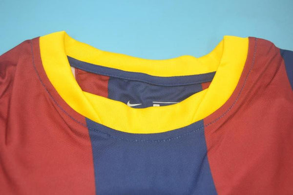 BARCELONA 2010 2011 MESSI 10   LONG SLEEVE HOME JERSEY
