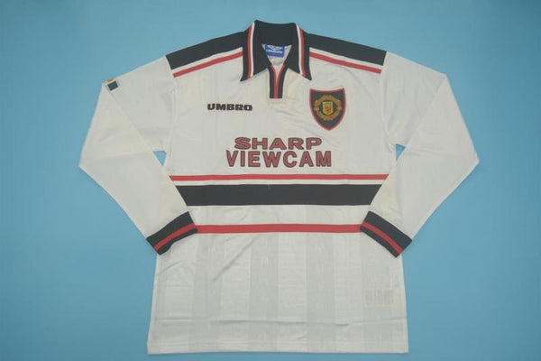 MANCHESTER UNITED 1998 1999 AWAY JERSEY LONG SLEEVE