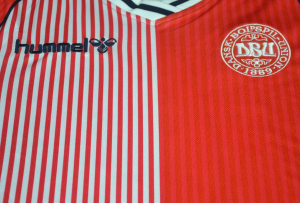 DENMARK 1986 NUMBER 10 HOME  JERSEY