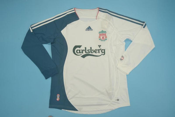 LIVERPOOL 2006 2007 LONG SLEEVE AWAY JERSEY