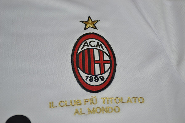 AC MILAN 2008 2009 LONG SLEEVE AWAY JERSEY