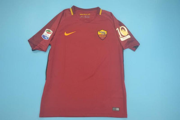 AS ROMA 2017 2018 TOTTI LAST MACH HOME JERSEY