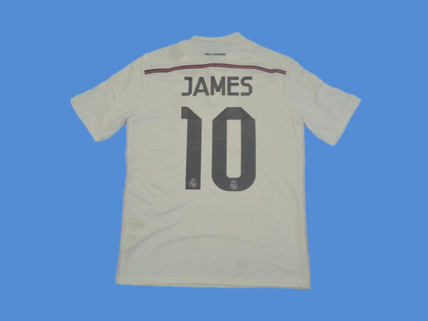 REAL MADRID 2014 2015 JAMES 10 HOME JERSEY