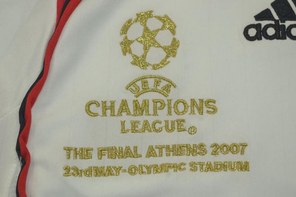 AC MILAN 2006 2007 GATTUSO 8 FINAL AWAY JERSEY