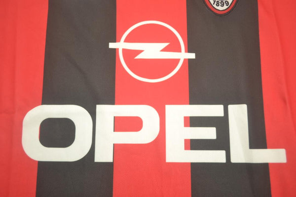 AC MILAN 2000 2002 BOBAN 10 HOME JERSEY SERIE A PATCH