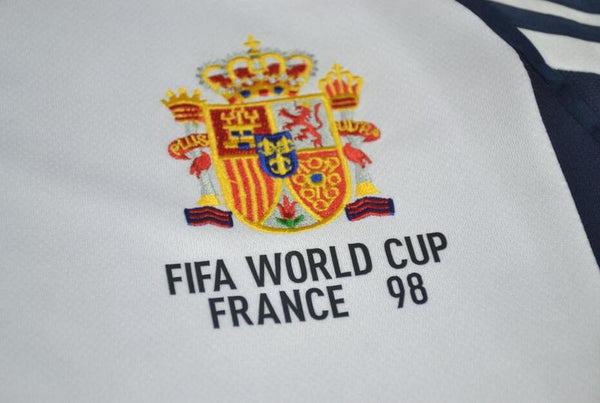 SPAIN 1998 WORLD CUP AWAY JERSEY