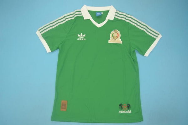 MEXICO 1986  HOME  JERSEY