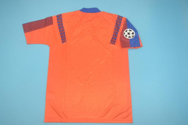 BARCELONA 1992 1993 CHAMPIONS LEAGUE PATCH AWAY JERSEY