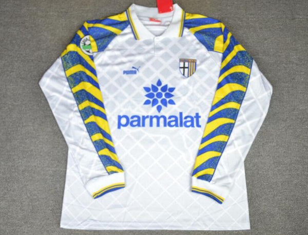 PARMA 1996 1997 LONG SLEEVE WHITE JERSEY