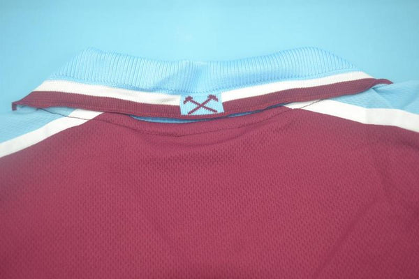 WEST HAM  UNITED 1999 2001 LAMPARD 18 HOME JERSEY