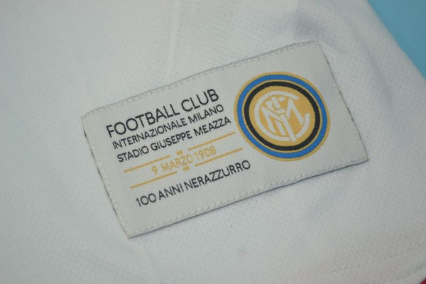INTER MILAN 2007 2008 ZANETTI 4 AWAY JERSEY