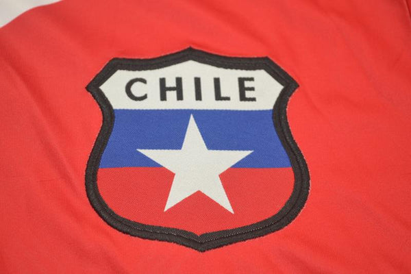 CHILE 1998 ZAMORANO 9 WORLD CUP HOME JERSEY