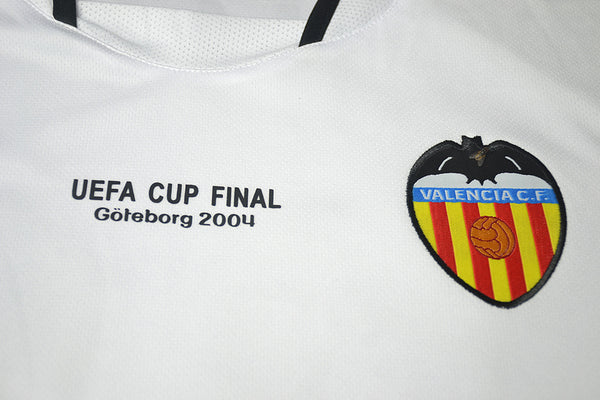 VALENCIA 2003 2004 EUROPA LEAGUE FINAL HOME JERSEY