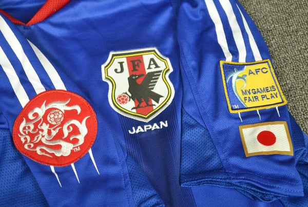JAPAN 2004 NAKATA 7 ASIAN CUP HOME  JERSEY