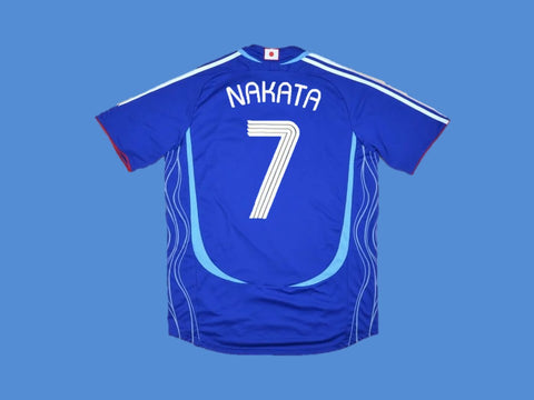 JAPAN 2006 WORLD CUP NAKATA 7 HOME JERSEY