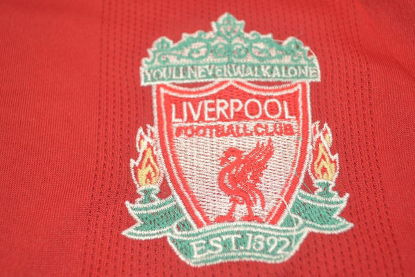 LIVERPOOL 2008 2010 UCL PATCH HOME JERSEY