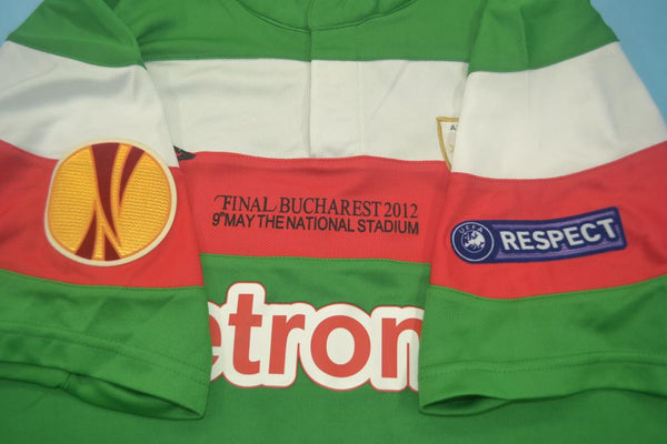 ATHLETIC BILBAO GURPEGUI 18 UEFA FINAL 2011 2012 AWAY JERSEY